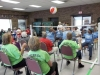 Participants in the Richmond County Senior Games play chair volleyball during an event last year.