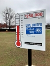 The United Way of Richmond County has raised a little more than 70 percent of its $250,000 goal for this year.