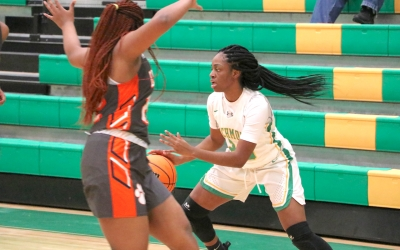 Senior Bree Wall scored a season-high 10 points in Richmond's win over Anson on Thursday.