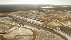 The new owners of Rockingham Speedway are considering putting a dirt track at the Little Rock.
