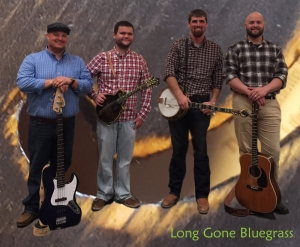 Long Gone Bluegrass Band will be one of three acts performing Saturday at the Norman Stage for the second annual Chick-n-Pick-n Music Jamboree.