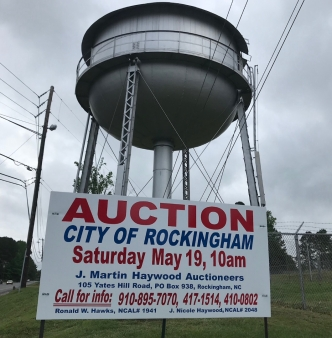 Saturday, May 19th Rockingham City Auction