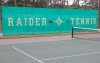 The Raider tennis team blanked Seventy-First 9-0 to open the season Monday.