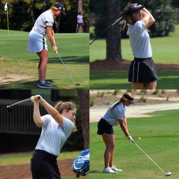 The Lady Raider golf team finished fourth this season in a competitive Sandhills Athletic Conference.