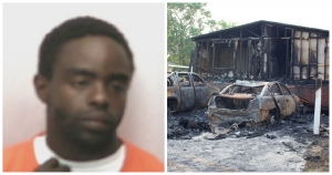 Man charged with arson in East Rockingham fire