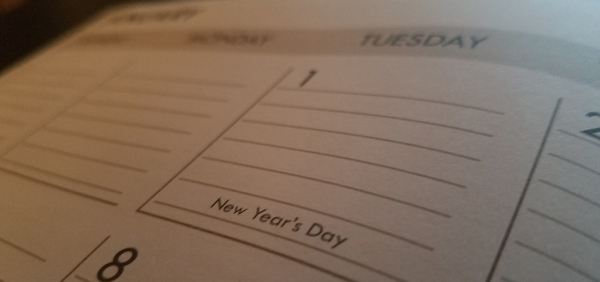 The what, when and how of the beginning of a new year