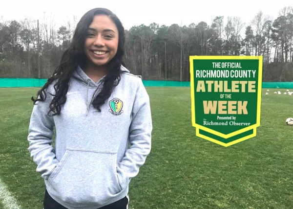 Valery Standridge has been named the Official Richmond County Female Athlete of the Week.