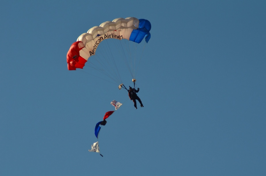 The All Veterans Jump Team returns to Rockingham this weekend for a special Veterans Day service.