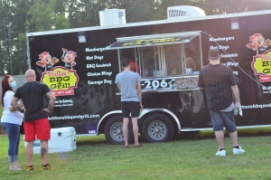 Britton's BBQ will be one of three vendors at Food Truck Friday in Hamlet.