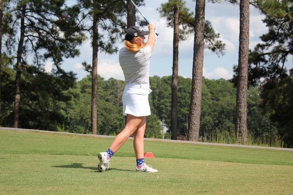 Senior and No. 1 golfer Hailey Miller will look to lead the Lady Raiders as they tee off at Pinehurst No. 5 on Monday.