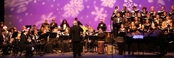 UNCP Music Department to host 11th annual Holiday Extravaganza