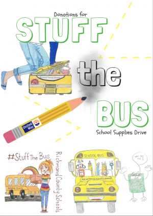 "Richmond County Schools Wants Your Help to ""Stuff the Bus"""