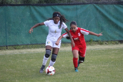 ROSports File Photo: Junior Jayana Nicholson scored the game-winning goal in Wednesday's semifinal match at Jack Britt High School.
