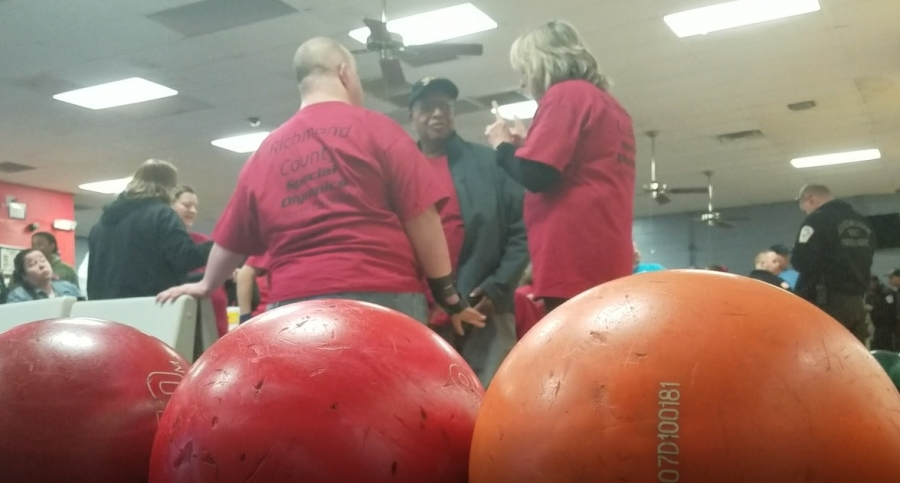 Richmond County Special Olympics had 130 athletes signed up for Thursdays bowling tournament. For video, see the Richmond Observer's Facebook page.