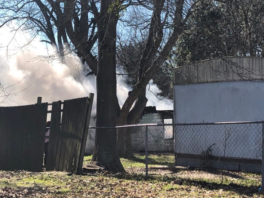 Cause of East Rockingham shed fire unknown