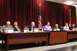 Commissioners hear update from County Manager Bryan Land
