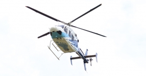 An Army soldier was airlifted from Hoffman to Chapel Hill following a training accident at Camp Mackall early Monday.