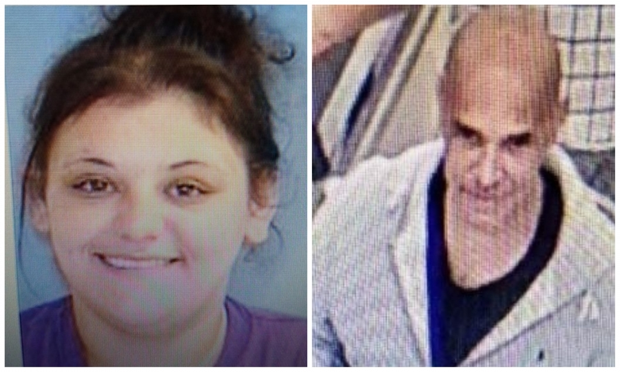 Investigators with the Hamlet Police Department are asking the public's help in locating Jessica Ennis and an unknown man for alleged crimes.