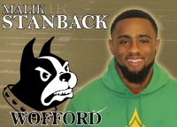 Senior wide receiver Malik Stanback signed his NLI on Dec. 19, making his future at Wofford College official.