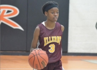 Ellerbe's Nyla Stroman (3) had 11 points in the Lady Wildcats' third-straight win.