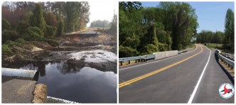 Zion Church Road, near Mount Olive in Wayne County, was the last road in North Carolina to reopen since Hurricane Florence.