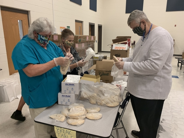 Richmond County Schools' thankful for their Hunger Heroes in Child Nutrition