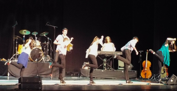 The Next Generation Leahy, a Canadian family performing Celtic music and dance, entertains the crowd at Cole Auditorium on April 11. See the RO's Facebook page for more photos.