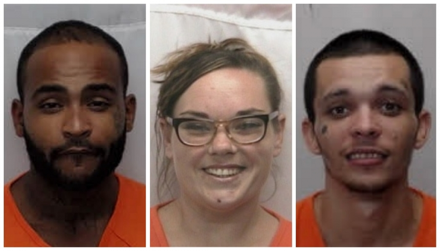 Three charged in Hamlet attempted murder