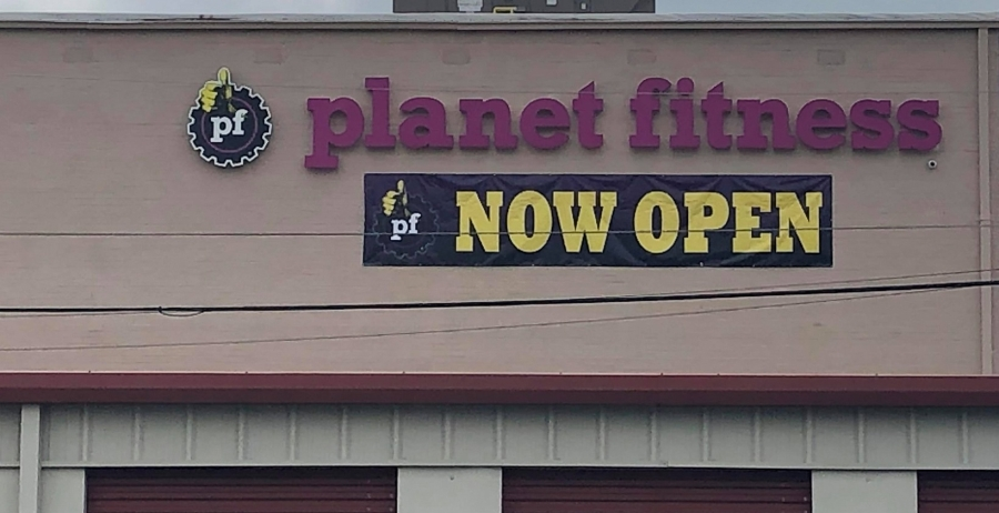 Planet Fitness opened today in Richmond Plaza.