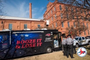 "The Governor's Highway Safety Program recently kicked off it's holiday ""Booze It & Lose It"" campaign in Durham."