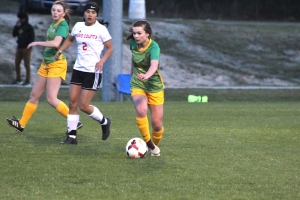 ROSports File Photo: Carley Lambeth (5) scored two goals in Richmond's 5-2 win over Lumberton.