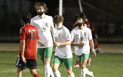 Set pieces key in Raiders' 5-2 win over Hoke County