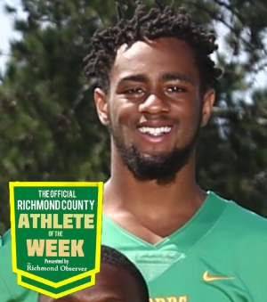 Malik Stanback is the Official Richmond County Athlete of the Week.