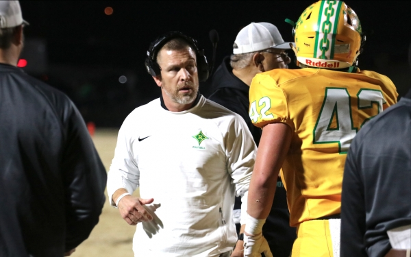 Head coach Bryan Till and the Raiders look to redeem themselves against Myers Park in the third round of the NCHSAA 4AA West playoffs.