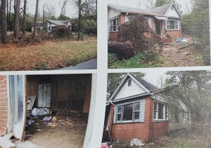 The Rockingham City Council on Tuesday approved the demolition of a home on Barrett Street.