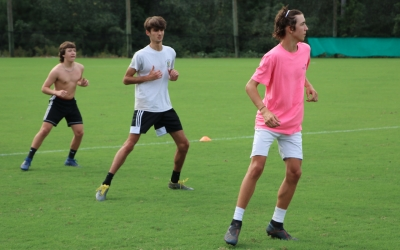 Raider soccer begins workouts, conditions ahead of winter schedule