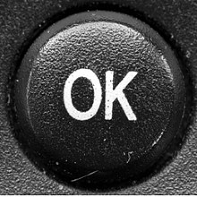 Ubiquitous OK Button