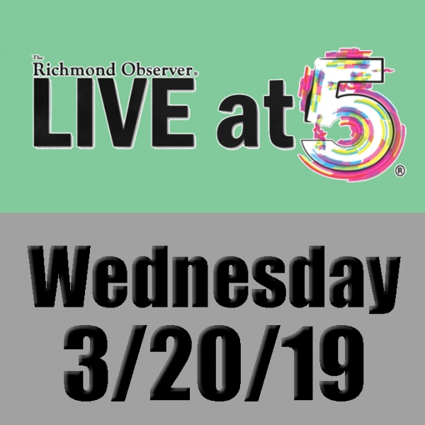 LIVE at 5 (Wednesday, 3/20/19)