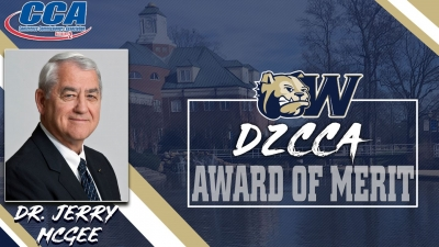 Former Wingate University President Dr. Jerry McGee earns D2CCA Award of Merit