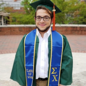 Richmond Community College graduate Thomas Alfredson transferred to UNC-Charlotte to complete his education and become an electrical engineer.
