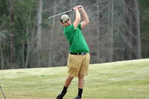 Jacob Puckett shot a 92 Tuesday at Gates Four in Fayetteville.