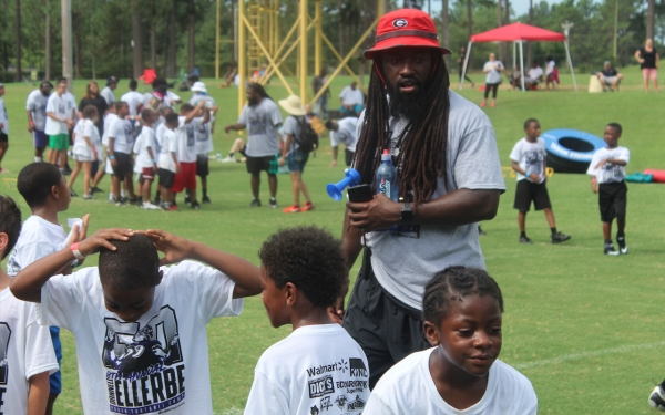 Former NFL linebacker Dannell Ellerbe, pictured here during 2019's camp, said there will not be a camp this year because of the coronavirus.