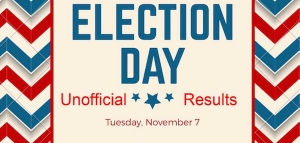 The unofficial results of Tuesday's election results are in.