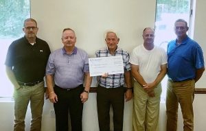 Samaritan Colony recognized as one of the Sandhills' necessary service providers with a $50K gift from the SECU Foundation