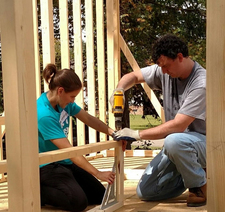 United Way of Richmond County, volunteers prep for projects on 'Day of Caring'
