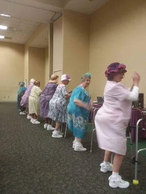 Delusional Divas at Senior Games