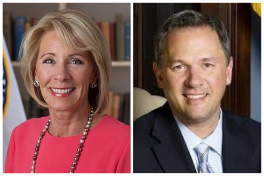 DeVos, Forest pitch Education Freedom Scholarships