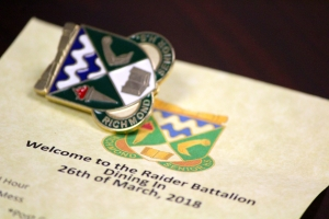 Raider Battalion Celebrates Excellence