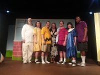 "Cast Members of Richmond Community Theatre's ""You're a Good Man, Charlie Brown!"""