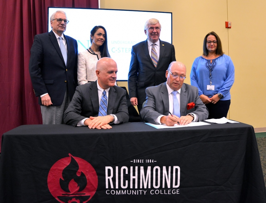 UNC Chapel Hill opens co-admission pathway to RichmondCC students